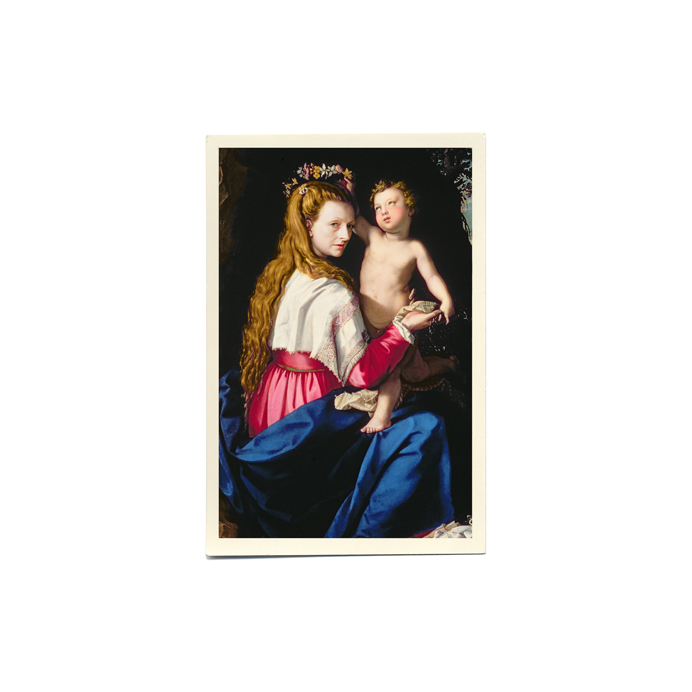 Mother Essays #9 (self-portrait) Madonna and Child Allori, Alessandro (1535-1607) Palazzo Pitti, Florence, Italy / The Bridgeman Art Library Copyright © Elizabeth Orcutt 2011